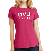 New Era Ladies Heritage Blend Crew Tee- UVU Dance