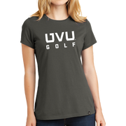 New Era Ladies Heritage Blend Crew Tee- UVU Golf