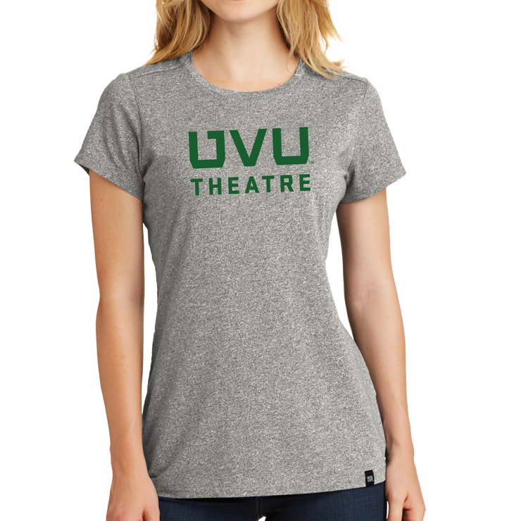 New Era Ladies Heritage Blend Crew Tee- UVU Theatre