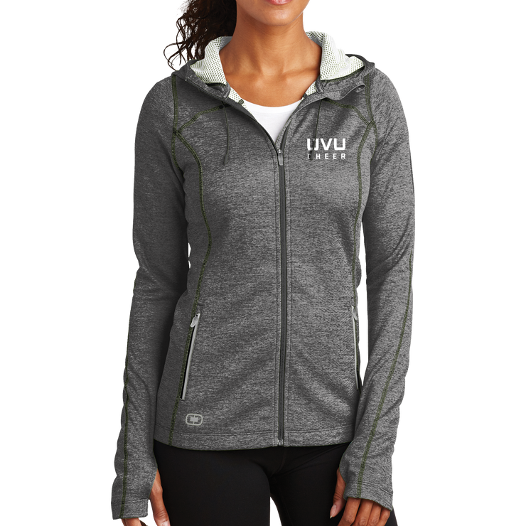 OGIO ENDURANCE Ladies Pursuit Full-Zip- UVU Cheer
