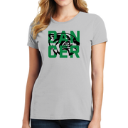 Port & Company Ladies Fan Favorite Tee- Wolverine Dancer