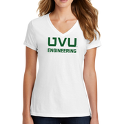 Port & Company Ladies Fan Favorite Blend V-Neck Tee- UVU Engineering