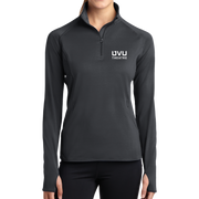 Sport-Tek Ladies Sport-Wick Stretch 1/2-Zip Pullover - UVU Theatre