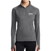 Sport-Tek Ladies Sport-Wick Stretch 1/2-Zip Pullover - UVU Dance