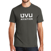 Graphite UVU Aviation Crew Tee