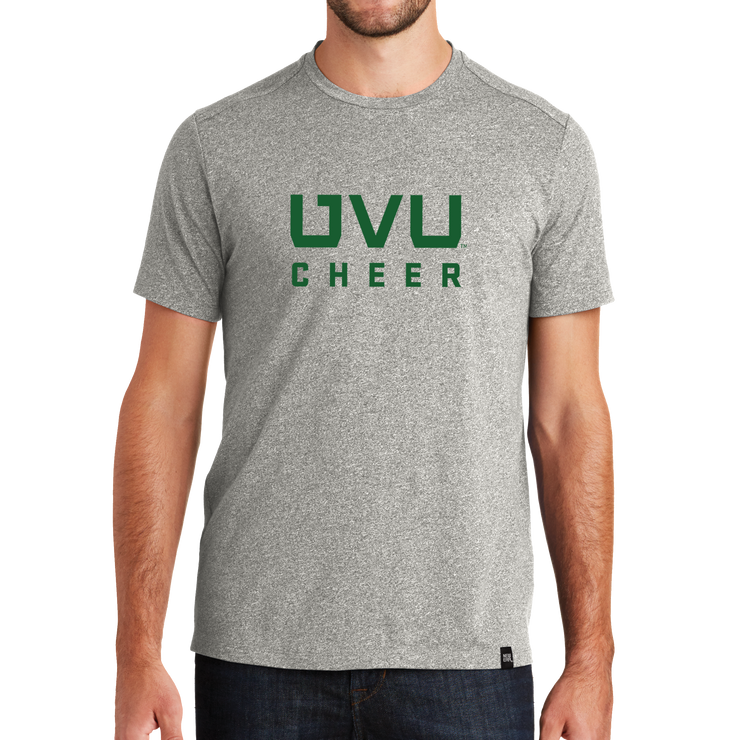 New Era Heritage Blend Crew Tee- UVU Cheer