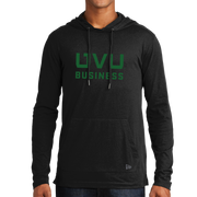 New Era Tri-Blend Performance Pullover Hoodie Tee- UVU Business