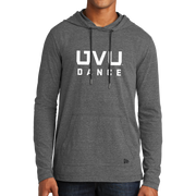 New Era Tri-Blend Performance Pullover Hoodie Tee- UVU Dance