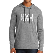 New Era Tri-Blend Performance Pullover Hoodie Tee- UVU Alumni