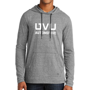 New Era Tri-Blend Performance Pullover Hoodie Tee- UVU Automotive