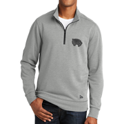 New Era Tri-Blend Fleece 1/4-Zip Pullover - Mascot 2 Tone