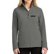 The North Face Ladies Tech Stretch Soft Shell Jacket - Mono Emb