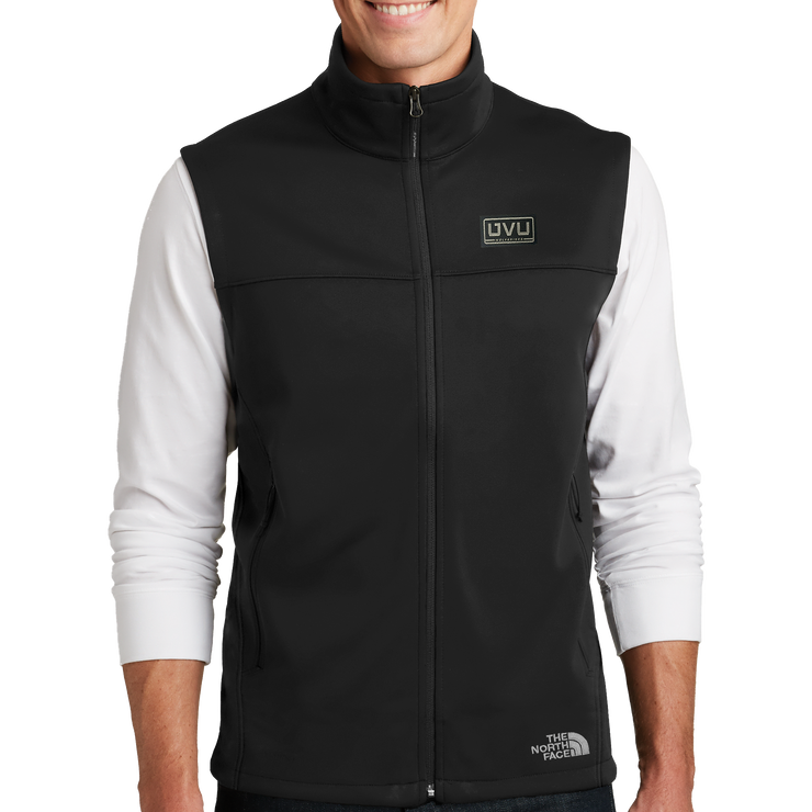 The North Face Ridgeline Soft Shell Vest- Pleather Mono Patch