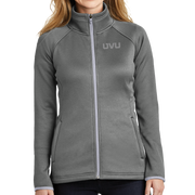 The North Face Ladies Canyon Flats Stretch Fleece Jacket - Mono Emb