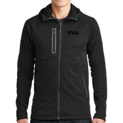 The North Face Canyon Flats Fleece Hooded Jacket- Mono Emb
