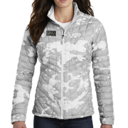 The North Face Ladies ThermoBall Trekker Jacket - Pleather Mono Patch