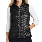 The North Face Ladies ThermoBall Trekker Vest - Pleather Mono Patch