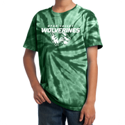Port & Company Youth Tie-Dye Tee- Combo Under Wolverines
