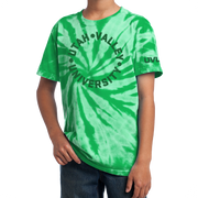 Port & Company Youth Tie-Dye Tee- UVU Distressed