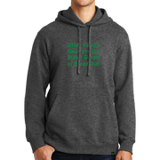 Port & Company Fan Favorite Fleece Pullover Hooded Sweatshirt- Bleed Green