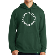Port & Company Fan Favorite Fleece Pullover Hooded Sweatshirt- UVU Distressed