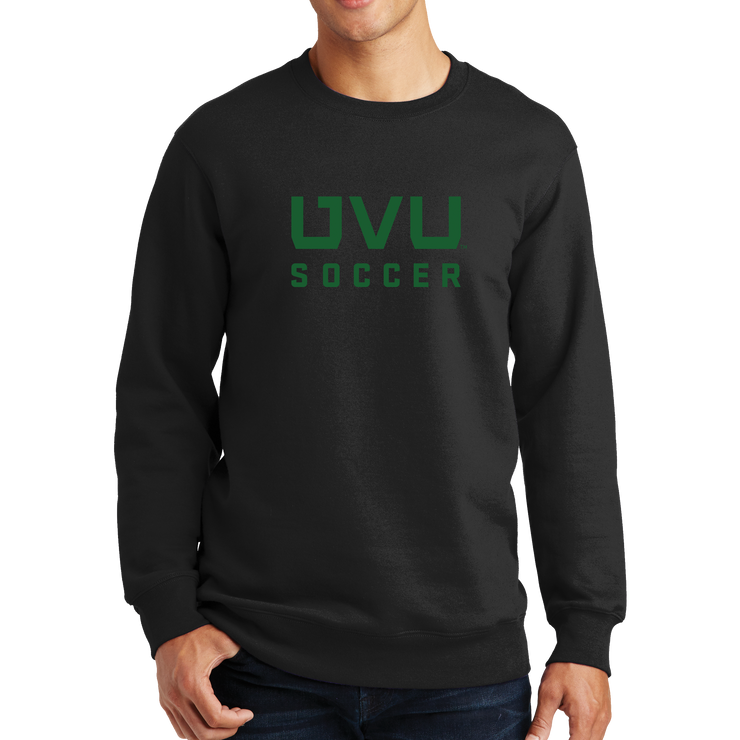 Port & Company Fan Favorite Fleece Crewneck Sweatshirt - UVU Soccer