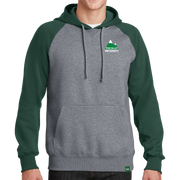 Sport-Tek Raglan Colorblock Pullover Hooded Sweatshirt - Mountain