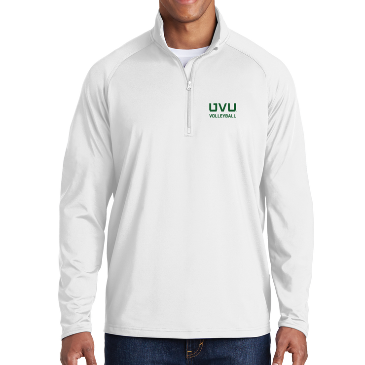 Sport-Tek Sport-Wick Stretch 1/2-Zip Pullover - UVU Volleyball