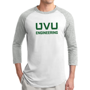 Sport-Tek Colorblock Raglan Jersey- UVU Engineering