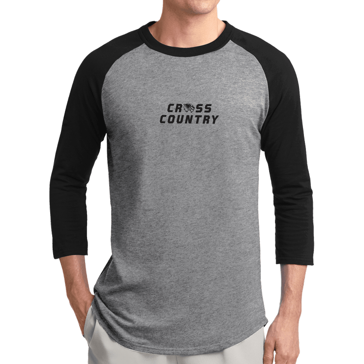 Sport-Tek Colorblock Raglan Jersey- Cross Country Head