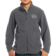 Port Authority Youth Value Fleece Jacket - Mascot 2 Tone