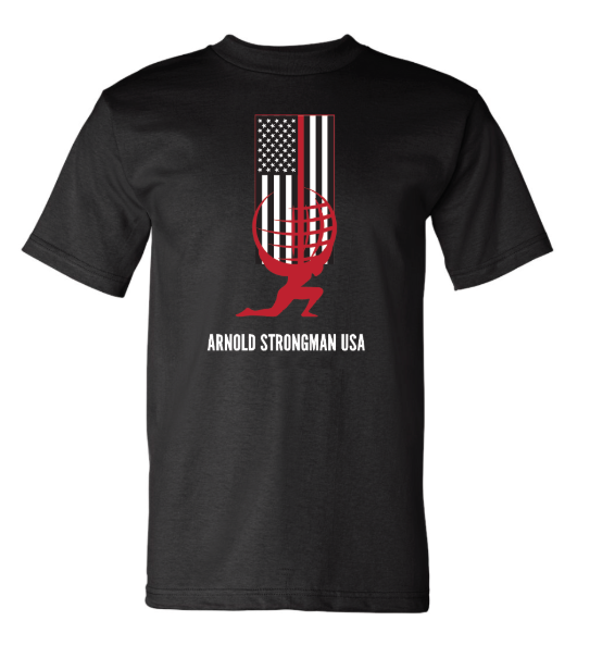 Thin Red Line T Shirt - Black