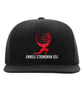 Official Arnold Strongman Logo Hat - Black