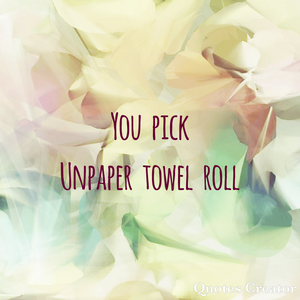 Your Choice Unpaper Towels