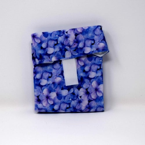 Violet Flowers Sandwich Wrap