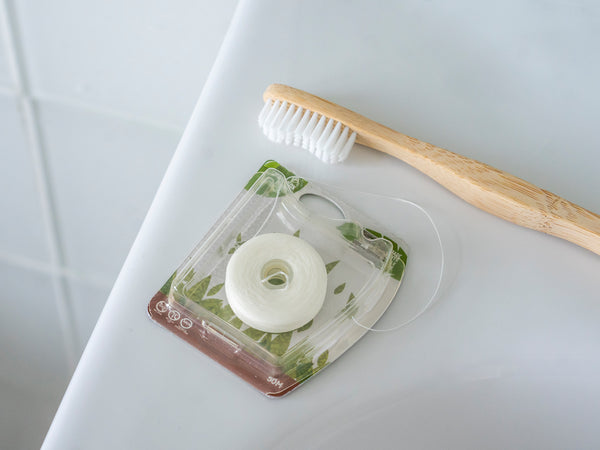 Toothbrush and floss set