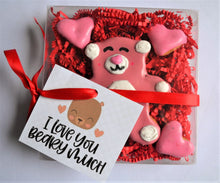 Load image into Gallery viewer, I Love You Beary Much Gourmet Dog Treat Box