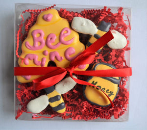 Bee Mine Gourmet Dog Treat Box
