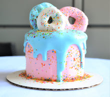 Load image into Gallery viewer, 4 Inch Doggy Donut Cake
