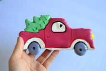 Load image into Gallery viewer, Dante's Jumbo Red Truck Christmas Cookie