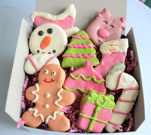 Autumn Harvest Gourmet Dog Cookie Box