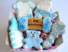 Load image into Gallery viewer, Dante's Big Brother Baby Shower Cookie Box