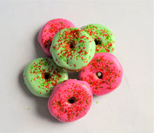 Load image into Gallery viewer, Mini Gourmet Christmas Donuts