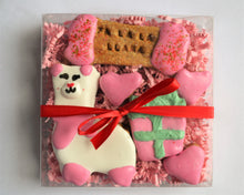 Load image into Gallery viewer, Llama Christmas Gourmet Cookie Box