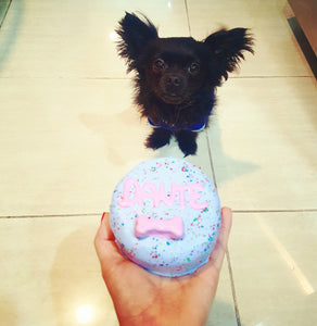 Dante's Pup-Sized Birthday Cake