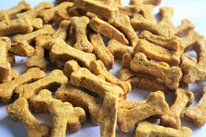 BULK  Discounted Organic Dog Bone Treats (Peanut Butter & Pumpkin Flavor)
