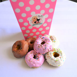 Dante's Doggy Donuts /Organic Dog Treats /Healthy Dog Treats /Dog Donuts /Dog Cake /Dog Cupcake /Dog Birthday /Organic Dog Bakery
