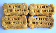 Load image into Gallery viewer, Dante's I Like Big Mutts Bone Biscuits /Novelty Gift /Humorous Gift /Gourmet Dog Treats /Gift for Dog /Healthy Dog Treats /Pet Treats