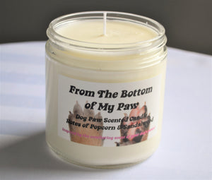 From the Bottom of my Paw 16oz Natural Soy Candle
