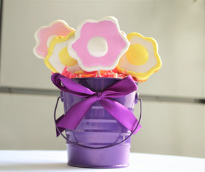 Dante's Flower Pot Bouquet Cookies